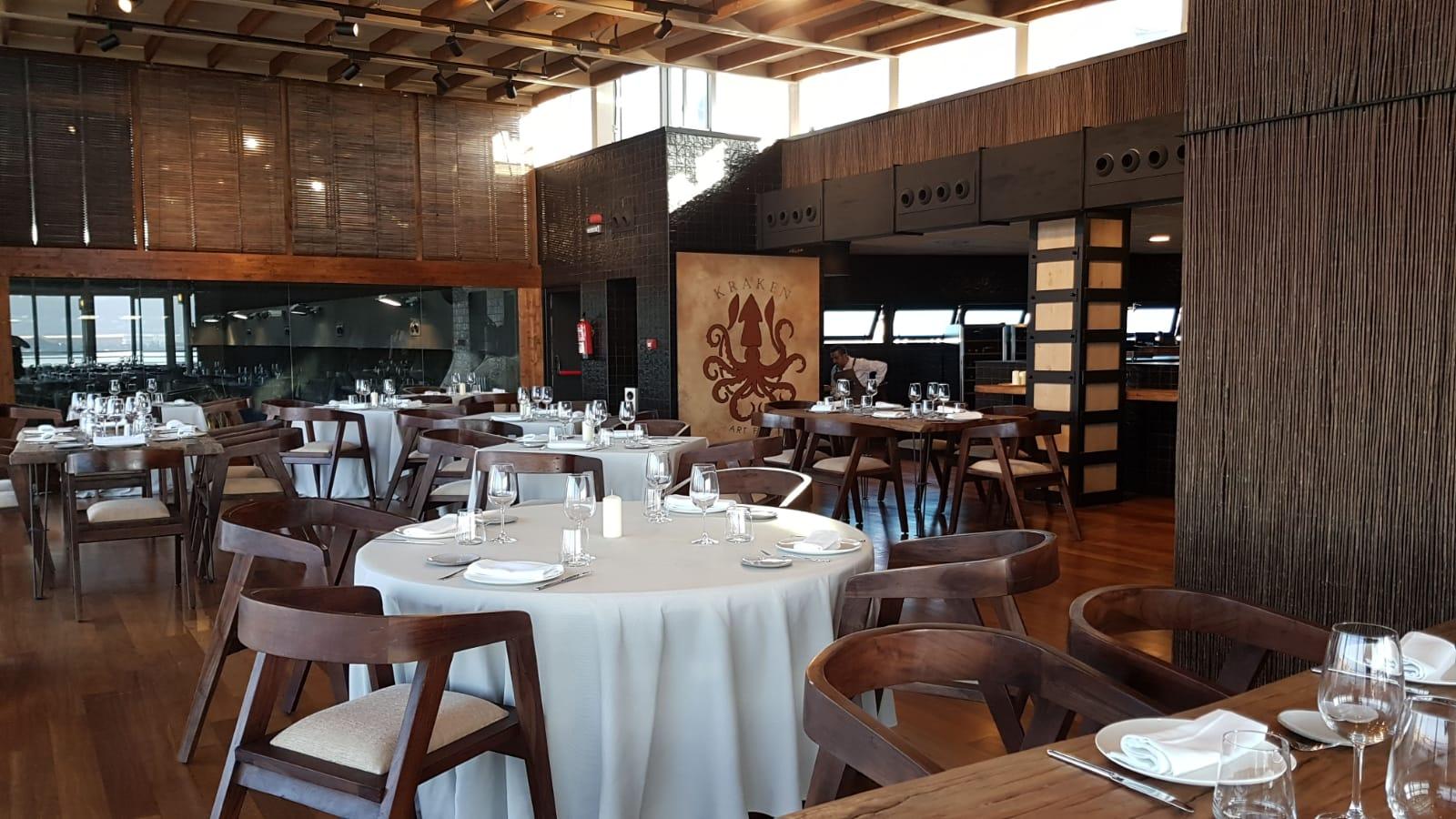 Abierto el nuevo restaurante Kraken en el Acuario de Gijón